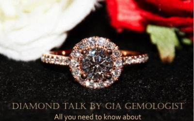 "SingaporeBrides x eClarity – ""Diamond Talk by GIA Gemologist"" Date: 21/10/2017"