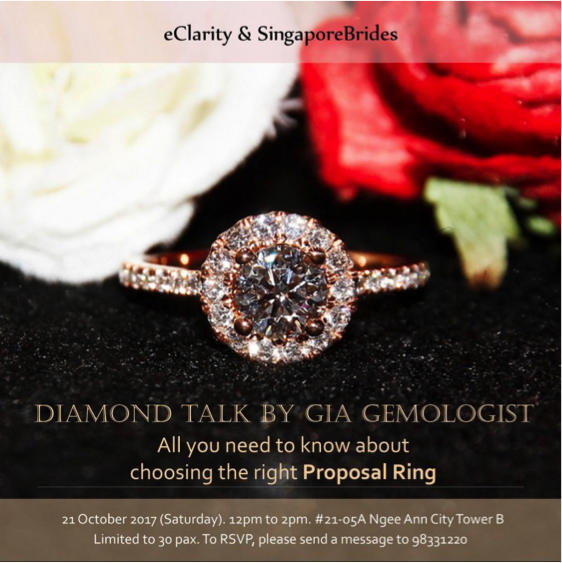 """Diamond Talk by GIA Gemologist"" October 2017"