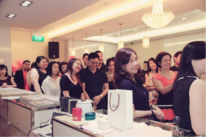 eClarity Grand Opening at Ngee Ann City!