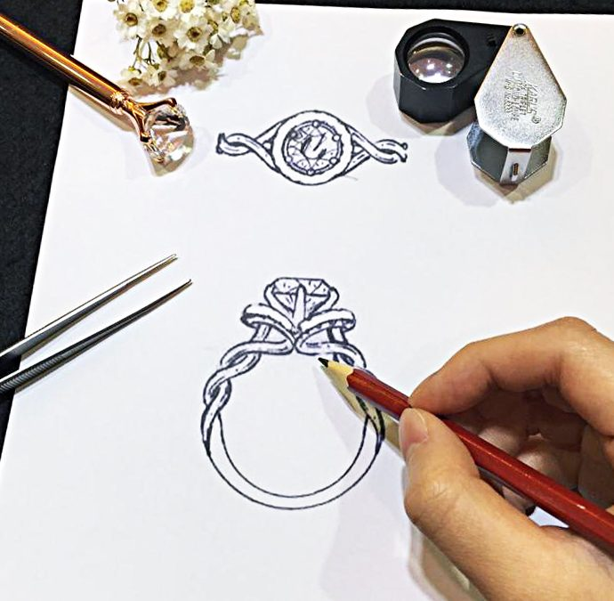 Customized Artpiece – Ring settings