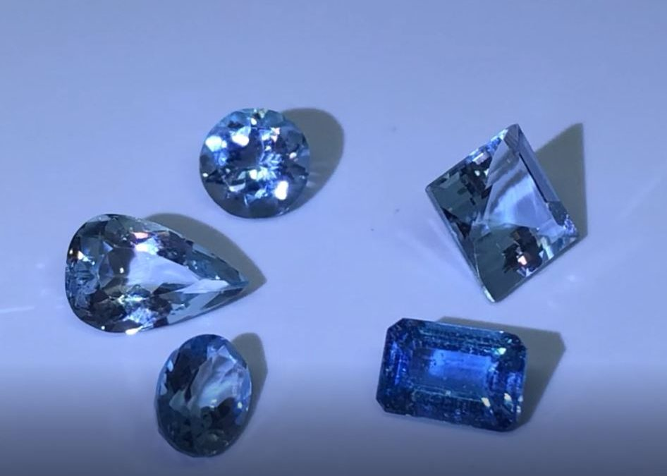 Aquamarine, the birthstone for the month of March