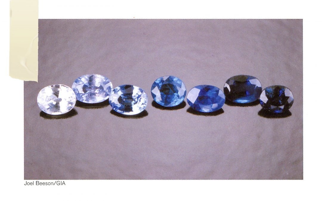 Colors – Hues, Tones, and Saturation of Blue Sapphires