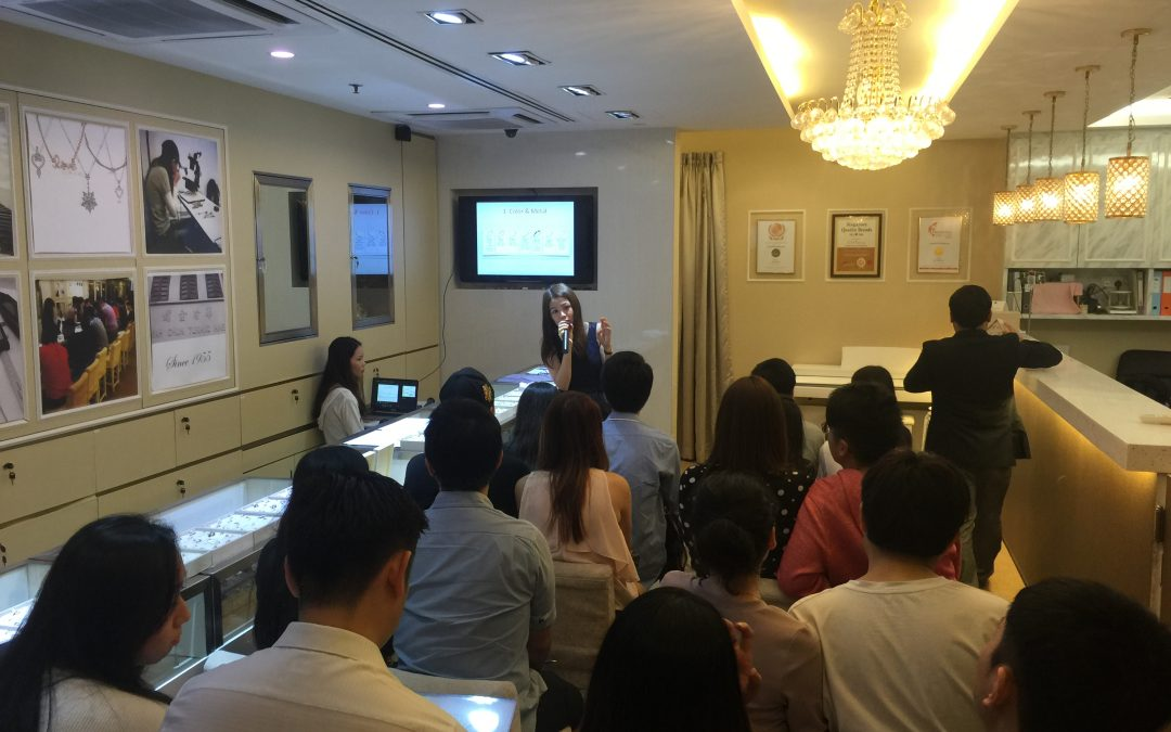 Wedding Bands and Diamond Talk by GIA Gemologist @ Ngee Ann City