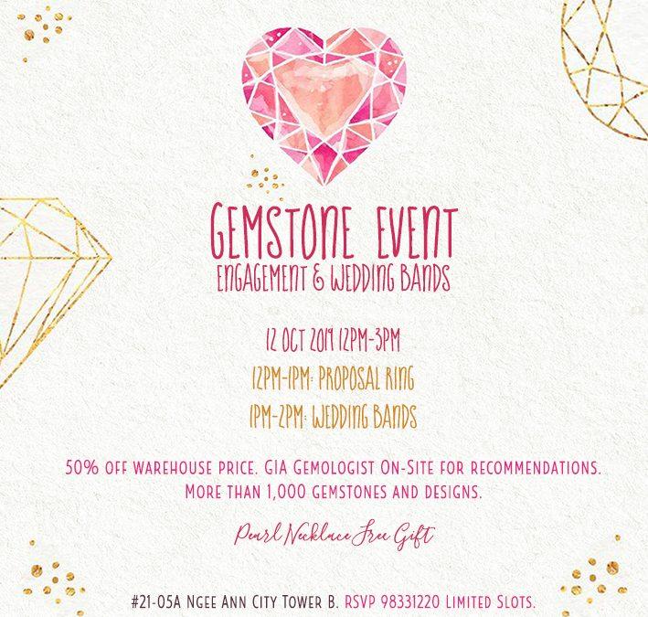 Gemstone Event: Engagement & Wedding Bands