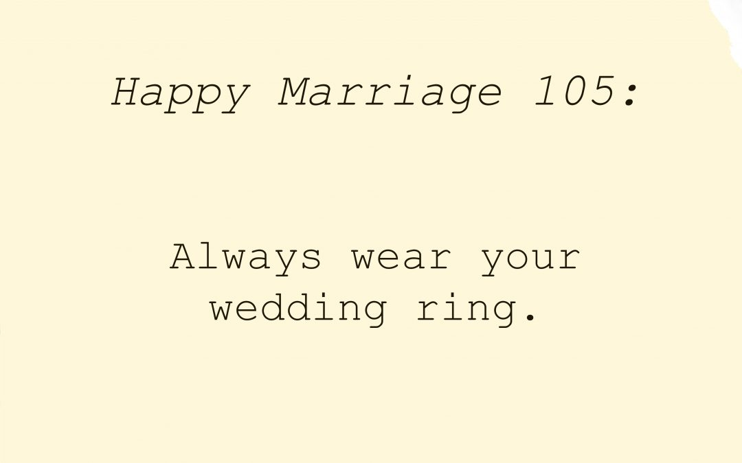 #HappyMarriage 105