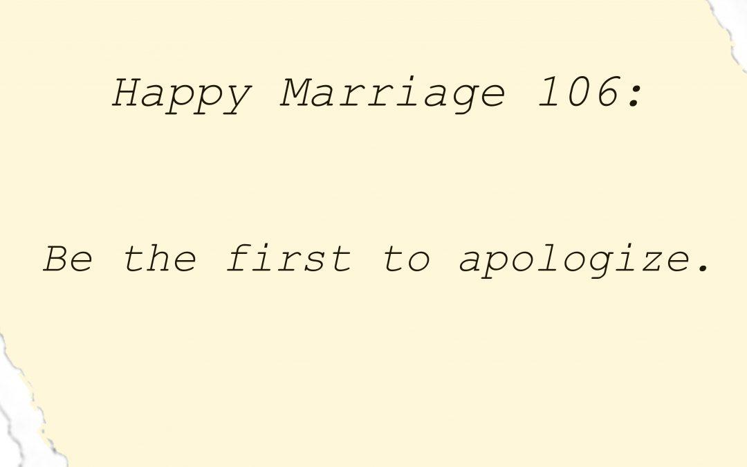 #HappyMarriage106: