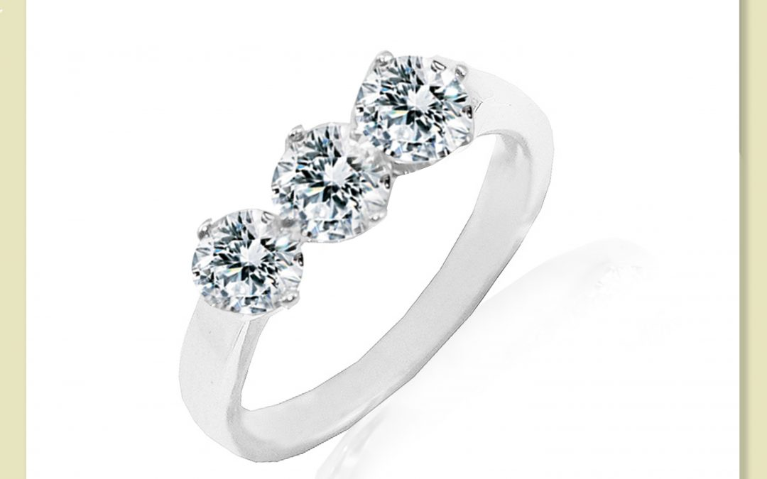 eClarity Diamond Dress Ring